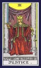 The Justice <br>Tarot Card
