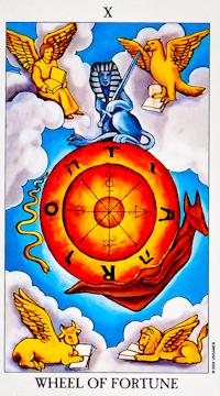 Wheel of Fortune Card Tarot