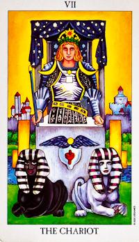 Chariot Card Tarot