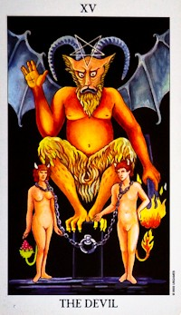 Devil Card Tarot