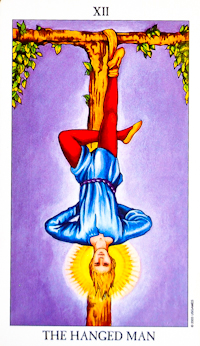 Hanged Man Card Tarot