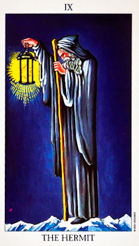 Hermit Card Tarot