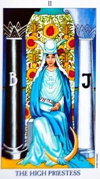 High Priestess Card Tarot