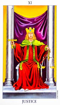 Justice Card Tarot