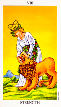 Strength Tarot Card