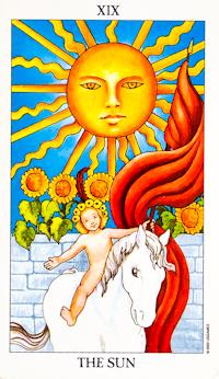 Sun Card Tarot