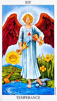 Temperance Card Tarot