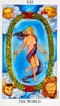 World Card Tarot