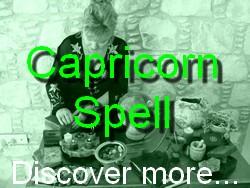 Capricorn Spell Casting for The Astrology Zodiac Star Sign of Capricorn