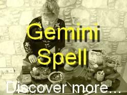 Gemini Spell Casting for The Astrology Zodiac Star Sign of Gemini