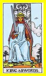 The King of Swords Tarot Card