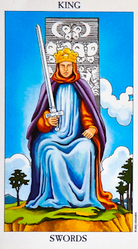 King of Swords Tarot Card