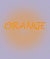 Aura Colour Meaning of Orange