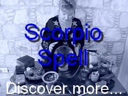 Scorpio Spell Casting for The Astrology Zodiac Star Sign of Scorpio