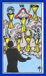 Seven of Cups Tarot Card