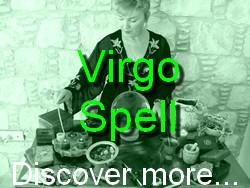 Virgo Spell Casting for The Astrology Zodiac Star Sign of Virgo