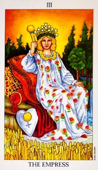 Empress Card Tarot