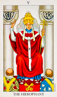 Hierophant Card Tarot