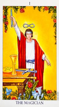 Magician Card Tarot
