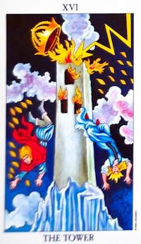 Tower Card Tarot