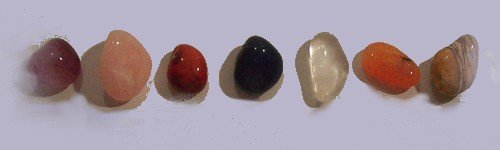 Crystals. Obsidian, Clear Quartz, Rose Quartz, Smokey, Quartz, Rhodonite, Sodalite, Tigers Eye, Tourmaline, Silver leaf, Aventurine, Agate, Amber, Amethyst, Angelite, Citrine, Aventurine