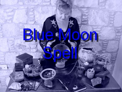 Blue Moon Spell cast by Alizon
