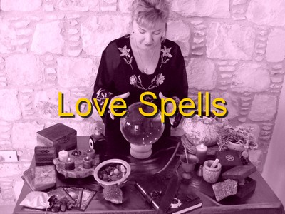 Alizon White Witch casting a Love Spell