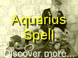 Aquarius Spell Casting for The Astrology Zodiac Star Sign of Aquarius