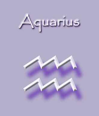 Zodiac Astrology Star Sign of Aquarius