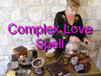White Witch Alizon Casting Spells for love