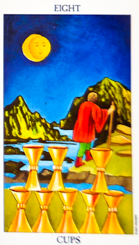 Eight of Cups Tarot Card