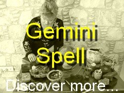 Gemini Spell Casting for The Astrology Zodiac Star Sign of Gemini