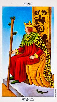King of Wands Tarot Card