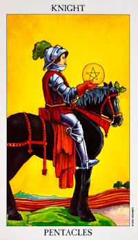 Knight of Pentacles Tarot Card