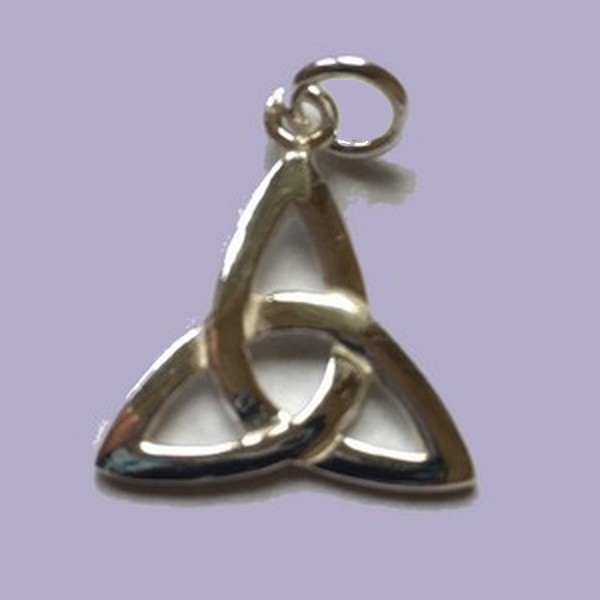 Triquetra Lucky Charm